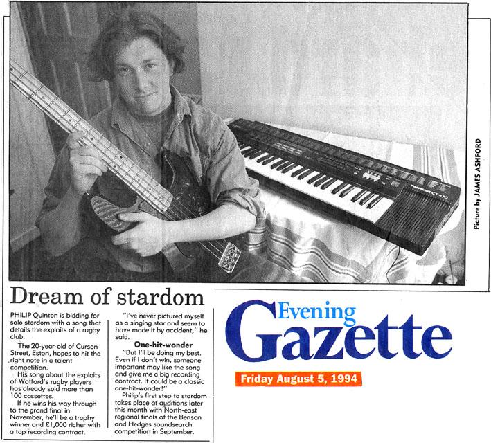 Evening Gazette, Eston, Cleveland, 5 August 1994