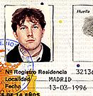 Madrid mugshot: tarjeta de residencia
