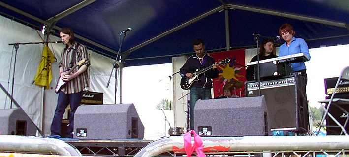 Monophobia at Carshalton Park, Surrey, 2002